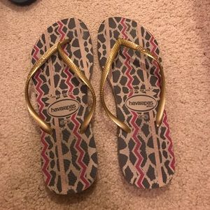 Like new Havaianas Slims
